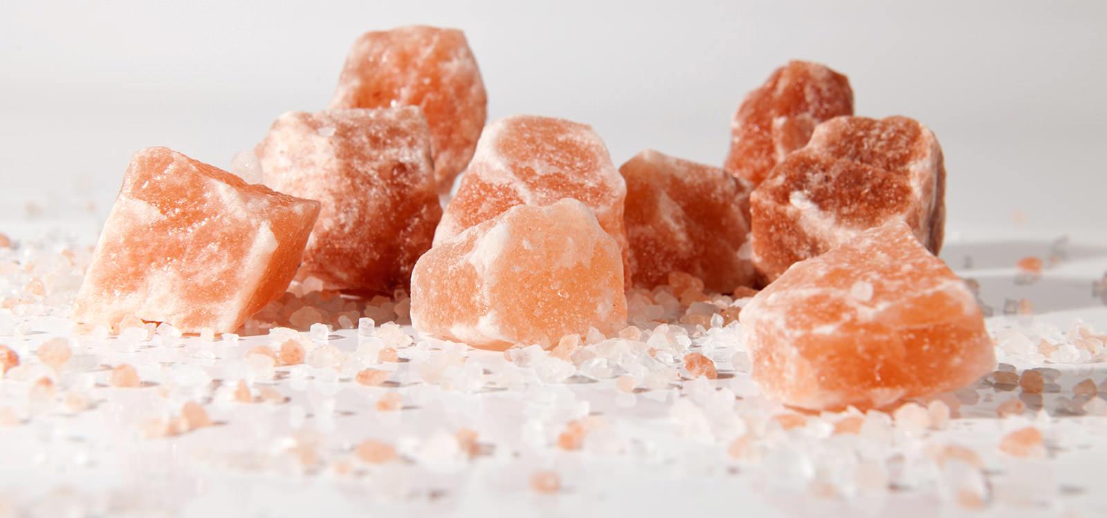 Mountain salt from the Himalayas